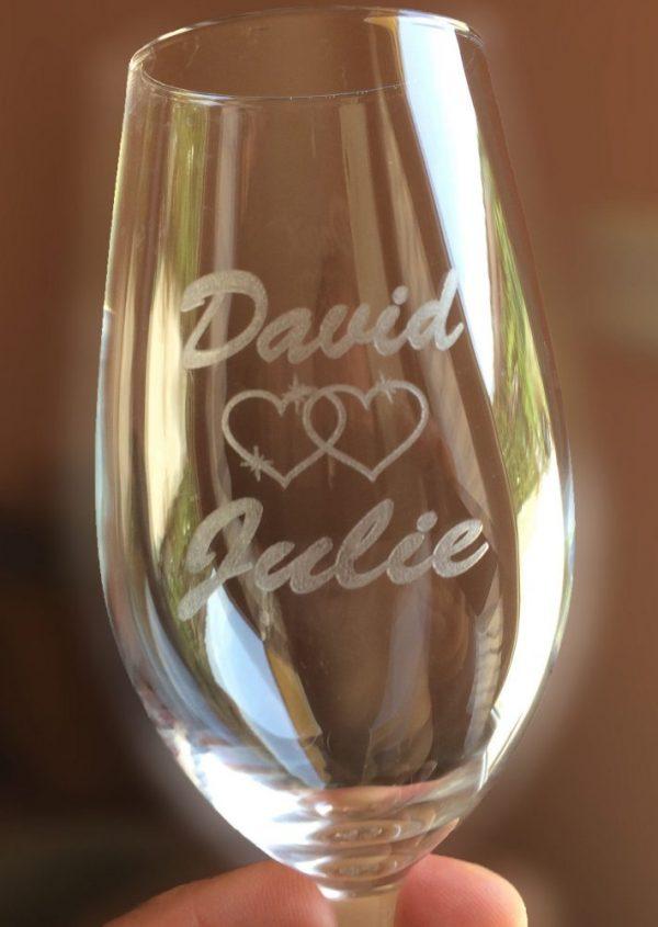 Flûte à champagne personnalisé