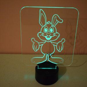 Lampe led effet 3D