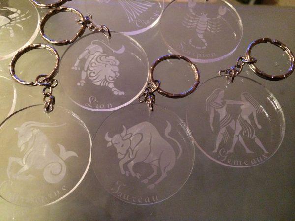 Porte-clés zodiaque 4