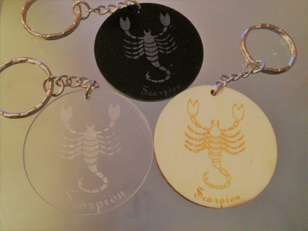Porte-clés zodiaque