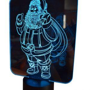 Père Noel bleu