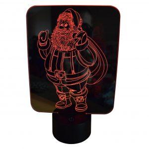 Père Noel rouge