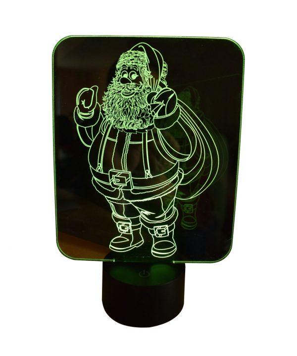 Père Noel vert