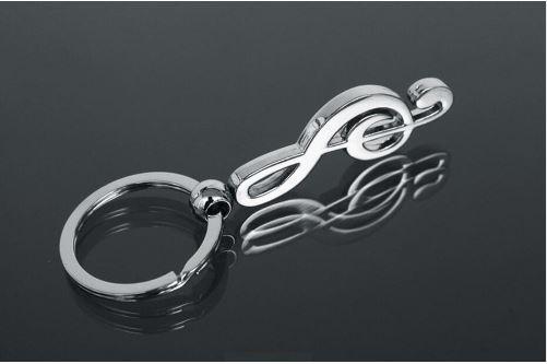 Porte clé La clé de sol 90mm 3