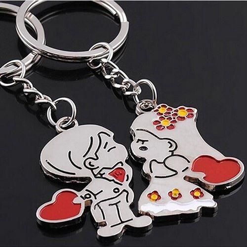 Porte-clés couple